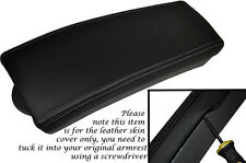 GREY STITCHING FITS TOYOTA PRIUS T3 T4 2009-2012 LEATHER ARMREST SKIN COVER ONLY