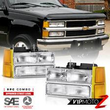 94-98 Chevy Silverado Tahoe Suburban Factory Style Headlight Bumper Corner Light