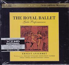 """The Royal Ballet Gala"" Ernest Ansermet Japan K2HD Audiophile CD 2-CD New Sealed"