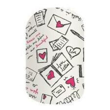 Jamberry Nail Wraps - Love Letters (Retired) Partial Sheet