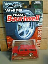 HOT WHEELS WHIPS TEAM BAURTWELL CHEVY SUBURBAN 1/64 DIE CAST CAR FUNKMASTER FLEX