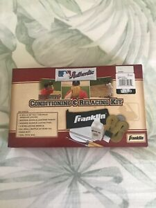 NEW Franklin Dr. Glove Baseball Deluxe Conditioning Replacing Kit Rawhide Lacing