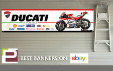 Ducati Corse XL Sponsor Logo Banner for Workshop, Garage, Lorenzo, Dovizioso