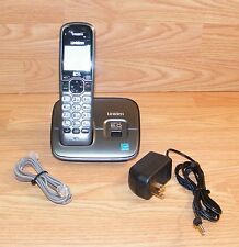 Uniden (D1660) Dect 6.0 Single Line Cordless Telephone w/ Base & Power Supply