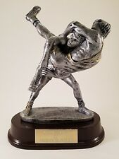 Large Male Double Wrestler Trophy ! Free Engraving! Ships In 1 Business Day!