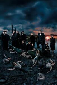 THE SOPRANOS CAST TELEVISION POSTER MAIN FILM A4 A3 ART PRINT