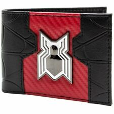 Official Marvel Spider-Man Homecoming Movie White Logo Black Wallet *SECOND*