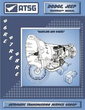 Dodge 46RE 47RE 48RE ATSG MANUAL Repair Rebuild Book Transmission Guide