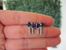 .48 CTW Diamond Earrings 14k White Gold E379 sep