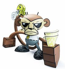 "JLED Joe Ledbetter BUSINESS MONKEY Bossy Bird making money  8"" vinyl figure"