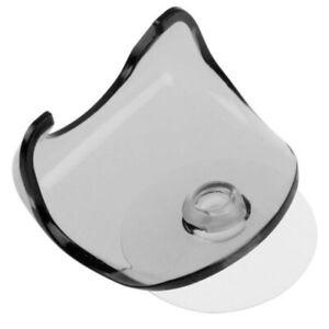 Men Razor Holder Plastic Clear Blue Suction Cup Bathroom Shower Single Rack HOT