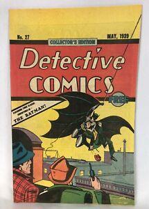 Detective Comics #27 Oreo Reprint 1984 First Batman Robin Joker Stories Unread