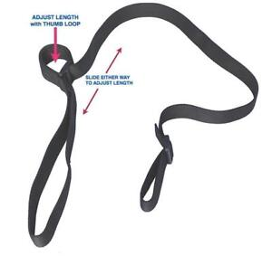"""Tactical Two Point Rifle Gun Sling 1.25"""", Speed Loop, Tube Construction, Black"""