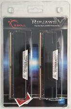 G.SKILL RipJaws V Schwarz 16GB (2x8GB) DDR4-3400 CL16 DIMM, RAM, Arbeitsspeicher