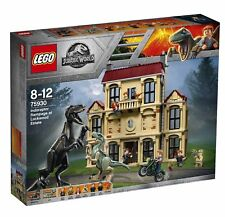 LEGO Jurassic World 75930 Indoraptor Rampage at Lockwood Estate NEW / Sealed