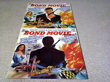 GEOFF LOVE BIG BOND THEMES UK 2x LP 1975 ROGER MOORE 007 TOM CHANTRELL WITHDRAWN
