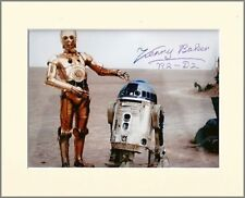 KENNY BAKER STAR WARS R2-D2 PP MOUNTED 8X10 SIGNED AUTOGRAPH PHOTO PRINT