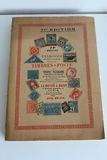 Catalogue Timbre-poste Maury 1935 collection philatelie