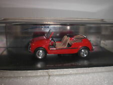 Spark 1499 - Fiat 500 Jolly 1959 red - 1:43 Made in China