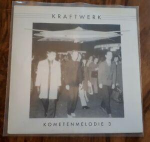 Kraftwerk. Vinyl. Kometenmelodie 3. Weißes Vinyl. Top Zustand. Selten.