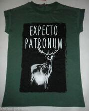 Harry Potter Hip Length Regular Graphic T-Shirts for Women