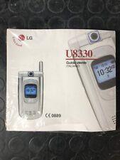 LG U8330 GUIDA UTENTE Manuale Italiano