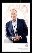 Karl Heinz Rummenigge Autogrammkarte Bayern München 2017-18 Original Signiert