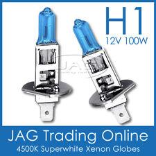 12V H1 100W XENON WHITE HEADLIGHT BULBS /GLOBES-Auto/Car/4x4/Motorbike/Truck/Bus