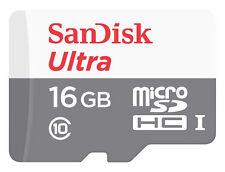 SanDisk 16GB Ultra MicroSD Memory Card - Class 10