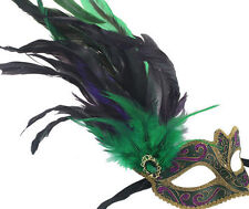 Mardi Gras Costumes and Eye Masks