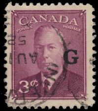 "CANADA O18 - King George VI ""G"" Overprint (pf82964)"