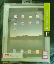 Ipad 2 Case iEssentials Silicone Skin Clear White Rubber New In Box
