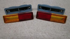 FORD FALCON XA XB SEDAN COUPE REAR 1/4 INDICATOR LENS AND HOUSING NEW Suit GT GS