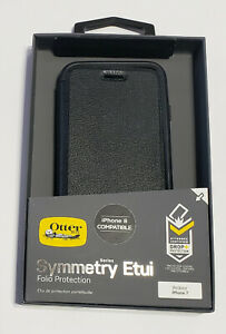 NEW OtterBox Symmetry Etui Folio Slim Wallet Flip Cover Case iPhone 7 iPhone 8