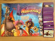 ALBUM vuoto MADAGASCAR 3 + Set completo di figurine Edibas 2012
