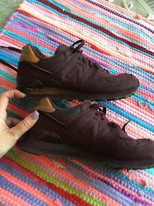 NEW BALANCE Women's WL574MTB Sneakers Maroon Supernova UK 6 US 8 EU 39 RRP $200!