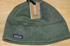 patagonia men's better sweater beanie large XL industrial green NEW