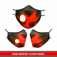 Cloth Mask Reusable with Breathing Holes Cotton Fabric Cloth Face Masks Washable