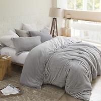 Reversible Soft Silky Faux Fur Mink King Queen Twin XL Comforter Shams Set New