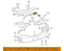 TOYOTA OEM 07-08 Yaris Rear Bumper-Outer Bracket 5248352040