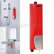 Mini Instant Electric Tankless Hot Water Heater Shower System Sink Tap Faucet