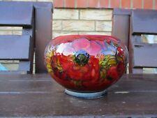 Moorcroft Pottery flambe anemone jardiniere