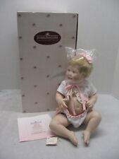 Ashton Drake Cute as a Button Porcelain Doll Kathy Barry-Hippensteel NOS