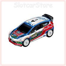 """Carrera GO 61214 Ford Fiesta RS WRC """"Abu Dhabi World Rally Team 2011"""" 1:43"""