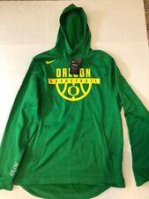 NIKE Oregon Ducks ELITE PO HOODIE MEN'S  XL Basketball Apple Green New