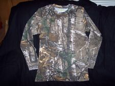 Boys Camo Shirt Realtree Camo Shirt Long Sleeve Shirt Camouflage Shirt Small