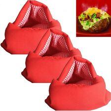3x Kartoffeltasche Dampfgarer Kartoffel Bag Mikrowellenbeutel Mikrowelle Beutel