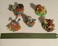 One Lot Of Lion King Figures From 1994 Movie - Set of 5 Figure Groupings