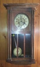 Antique Gustav Becker  Regulator Wall Clock Works some