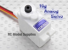 RC Analog Servo 10g / 1.4kg / 0.09s HK15178 White Plane Quad Boat Heli UK Stock.